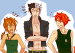 Playful Conflict~ Humanized Warrior Cats by runtyiscute1999