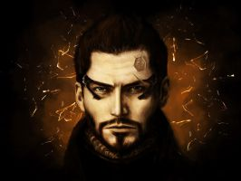 Adam Jensen by Aestra