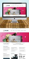 Flixio 2 Home Page Design by vennerconcept