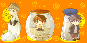 Salt Sugar Pepper by KagamineSou