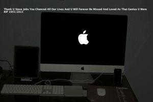 RIP Steve Jobs 1955/2011 by Darkorias