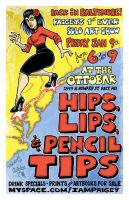 Hips, Lips and Pencil Tips by paigey