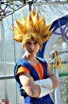 Vegetto Ssj ready to fight! by Alexcloudsquall