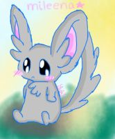 Mileena the Minccino :: colored :: by iFailAtEverything