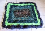 Luck of the Irish Rag Rug by Dragonrose36