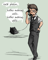 Don't pick up the telephone. by Mr-Xvious