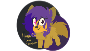 Hannah (me) - CONFUSION - Chibi ref by Choco-Floof