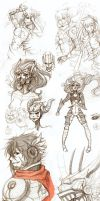 SKETCH DUMP by Enijoi