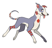 Adopted: Jack the Greyhound by Fruchie by TCGamerboy2002