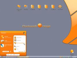 ClockWork Orange Gui Kit by vStyler