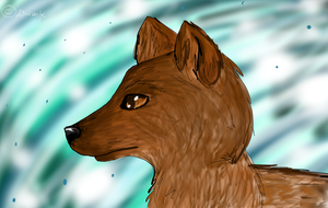 Wolf by Aguawolf