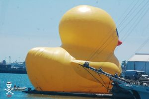 The Giant Rubber Duck by CZProductions