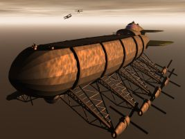 Zeppelin Carrier by shelbs2