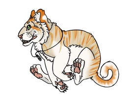 Golden Tabby Tiger by GIompMe