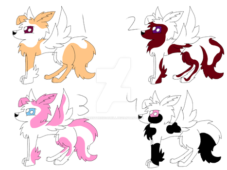 Common Mythical Fox Adopts(CLOSED) by DarkTheExcadrill
