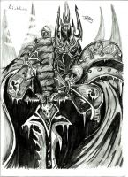 Lich king by royalsmiley