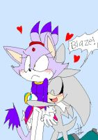 "_Silver:""BLAZE""_ by Umbra-Flower"