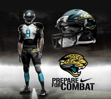 Jacksonville Jaguars Away by DrunkenMoonkey