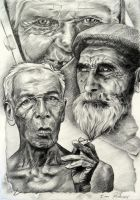 Old age / Vejez by TERRIBLEart