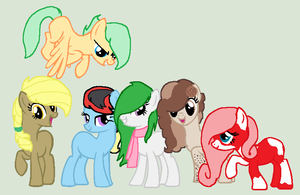 My Main 6 by ArtMlpLover123