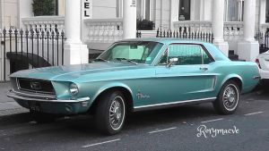 1968 Ford Mustang by The-Transport-Guild