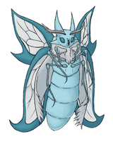 Fakemon: Diamonarch V2 by bubblewrap-pancakes