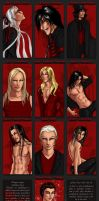 9 vampires and a fairy by Zardra
