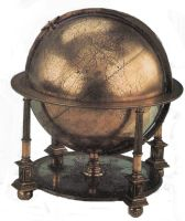 Antique Globe by jinifur