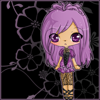 ibook - purple and black by linkitty