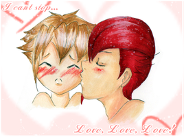 I cant stop Love Love Love by J-J-Joker