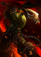 Grommash Hellscream by UMTA
