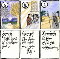 Tengwar Karuta - Additionals 2 by Qitian