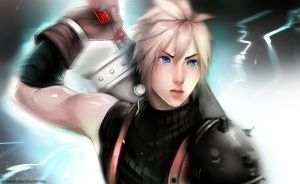 Cloud Strife by Millkie