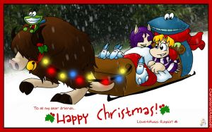A Raymany Christmas 02 by raygirl