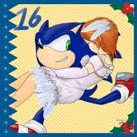 Sonic Advent Calendar: 16th by Feniiku