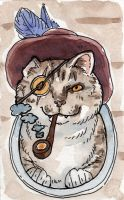 Ship Cat Series - Pirate Cat by angelac