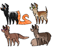 Canine Adopts 4 by LobsterAdopts