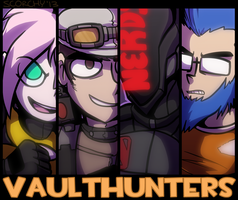 VAULTHUNTERS by 0tacoon
