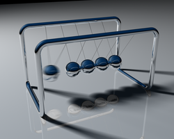 Newton's Cradle by foreverCTY
