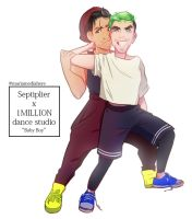 Septiplier x 1MILLION by MariaMediaHere