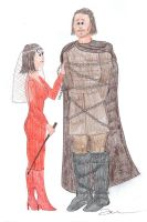 The Wedding of Bronn by Impsgramma