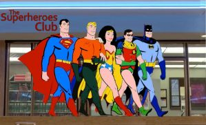 Superfriends Breakfast Club by Brandtk