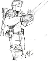 Chris Redfield by redfield37