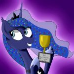 A Winner Is Luna! - Day 14 by MelonHunter