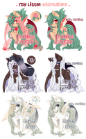 My Little Adoptables: Veiled Beauties [closed!] by riddlish