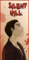 Silent Hill bookmarks- Harry by MidoriEyes