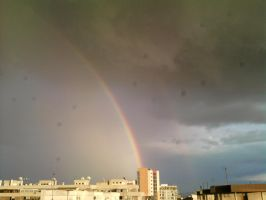 The Clouds and Me - Rainbow 2011 by Kay-March