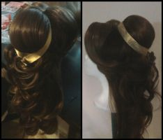 Beauty and the Beast Wig by TheRealLittleMermaid