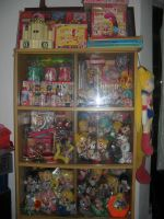 SAILORMOON COLLECTION DISPLAY1 by prinsesaian