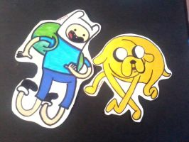 Adventure time paperchilds by salmuchis3